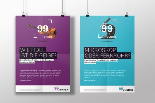 Poster von der Kategorien Kunst und Kultur und Wissenschaft von 99 Funken. Die Markenentwicklung entstammt von CROMATICS.