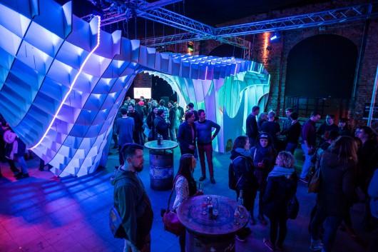 Nach den Keynotes konnten sich alle Gäste und Kreativen in lockerer Atmosphäre austauschen.
