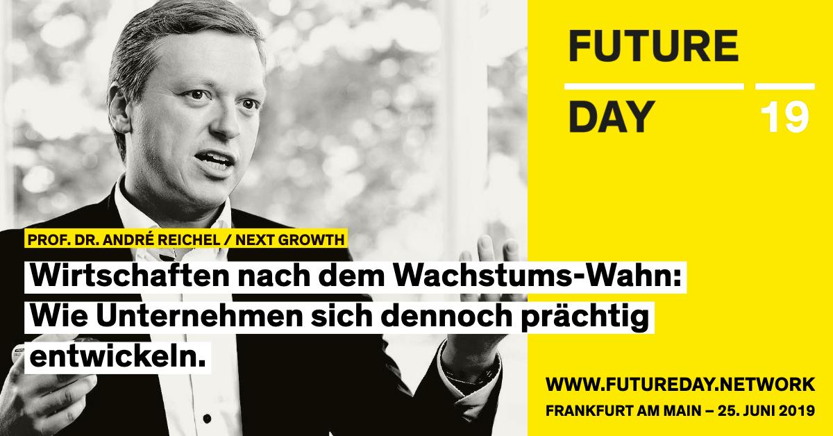 André Reichel ist beim Future Day 2019 in Frankfurt als Speaker dabei.