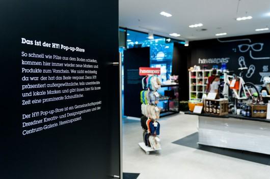 Der Hy-Pop-Store lädt in Dresden ein. CROMATICS organisiert Eröffnung und Marketing.