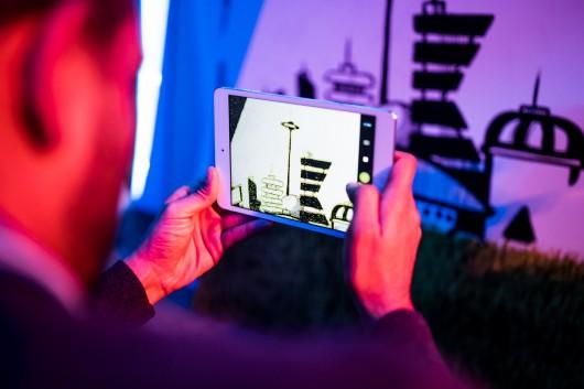 Auf der Veranstaltung wurde den Gästen die Capture App gezeigt.