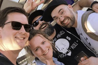 Wir sind Wiederholungstäter: CROMATICS beim Future Day 2017 in Frankfurt