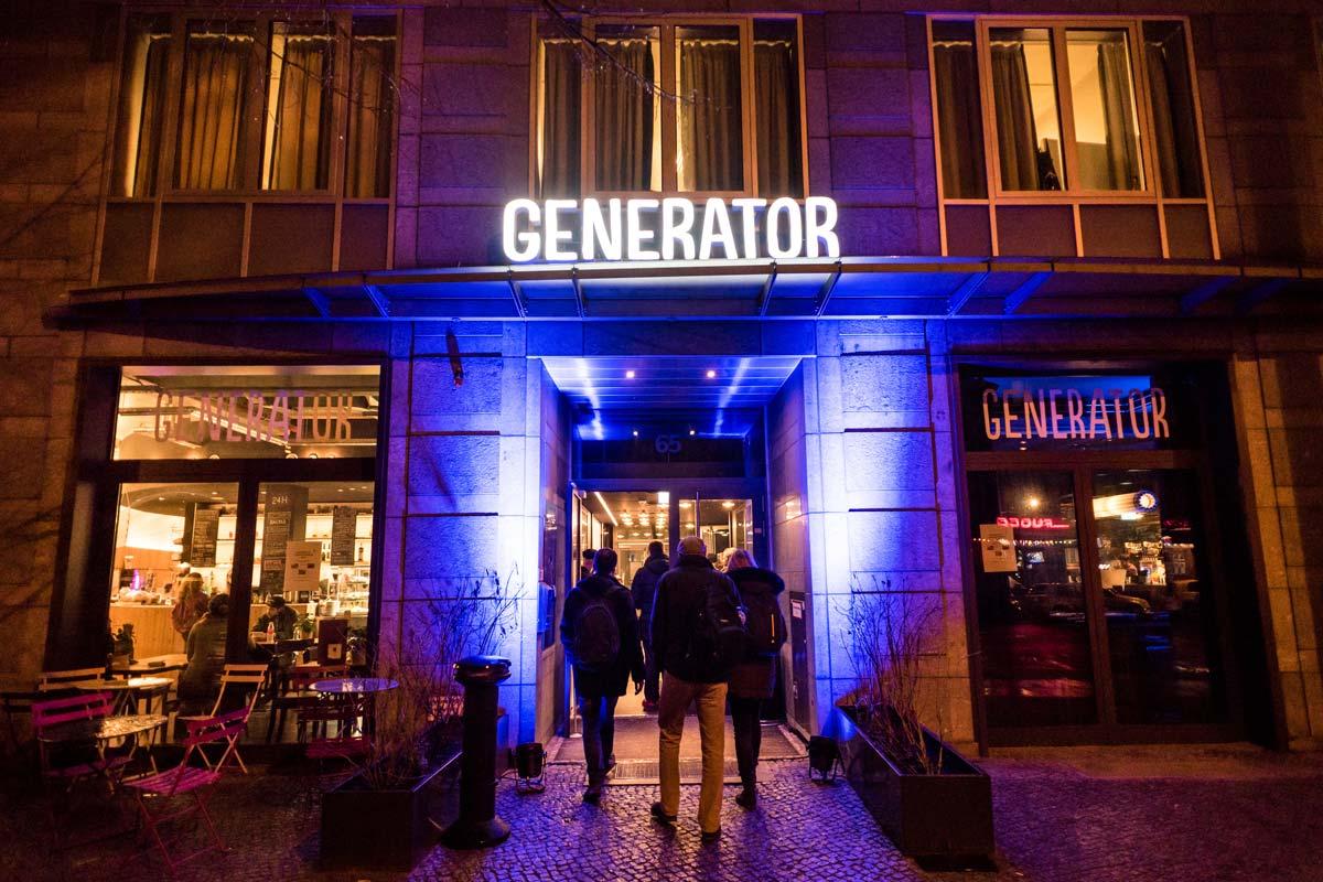 Die Firma GENERATOR war auch dabei.