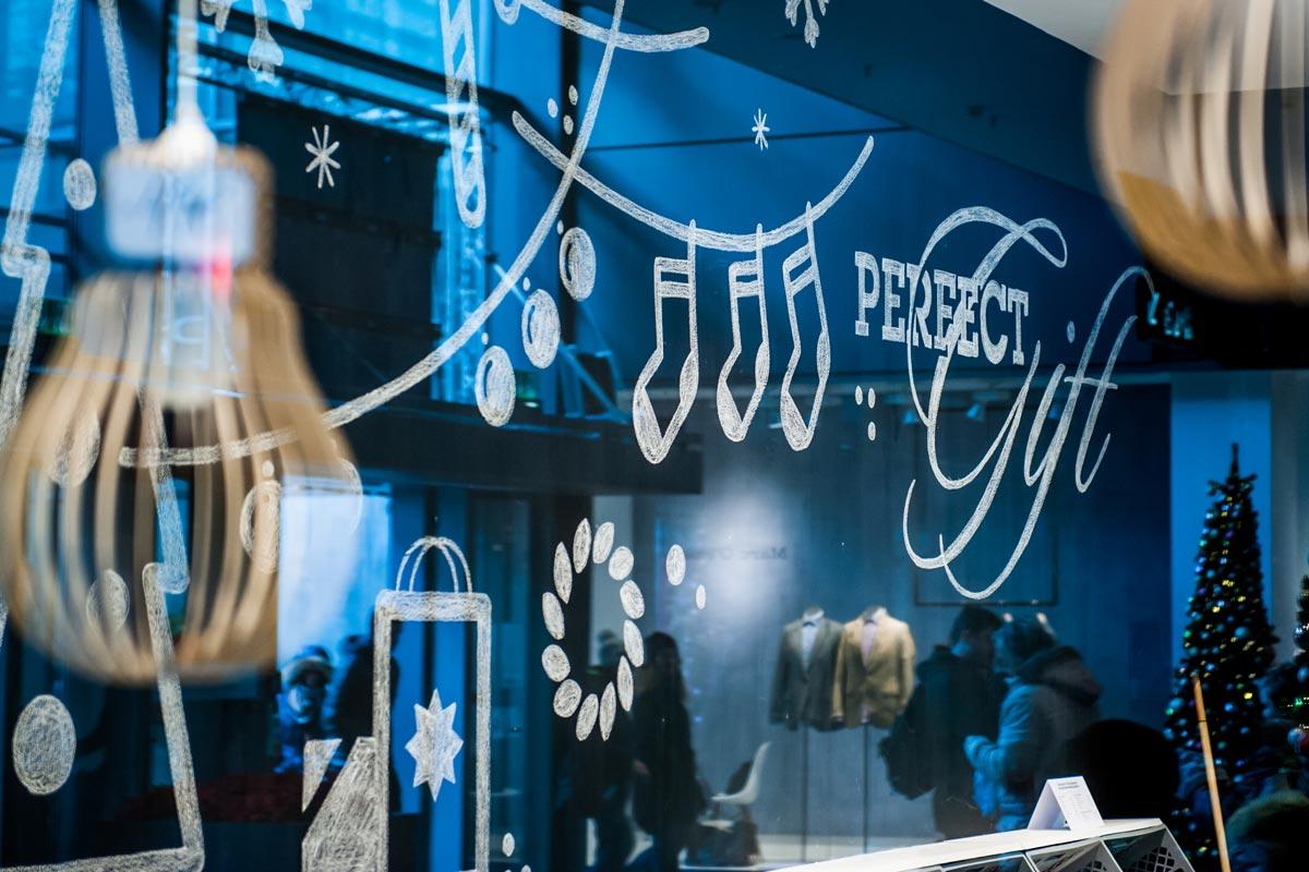 Pop up Store von HY in Dresden. Out Of Home organisiert von CROMATICS.