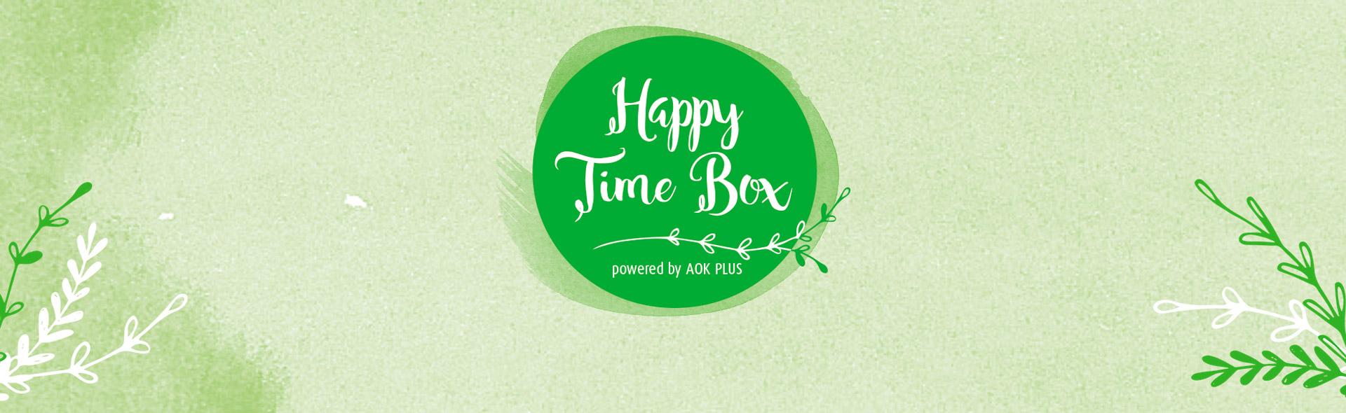 Die Happy Time Box wurde für Mädelsabende konzipiert.