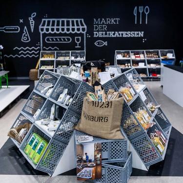 Ladenfläche des HY Pop Stores in Dresden Centurm Galerie. Dresdner Agenturen sind mit dabei.