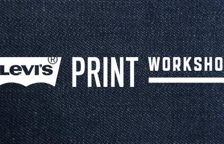 Der Levis Print Workshop ging über mehrere Wochen und war ein voller Erfolg by CROMATICS Dresden