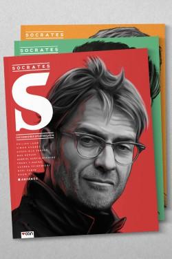 Die Cover des Socrates Magazins in voller Pracht.