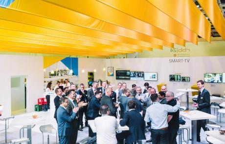 TechniSat präsentiert seine neue Marke auf der Messe IFA.
