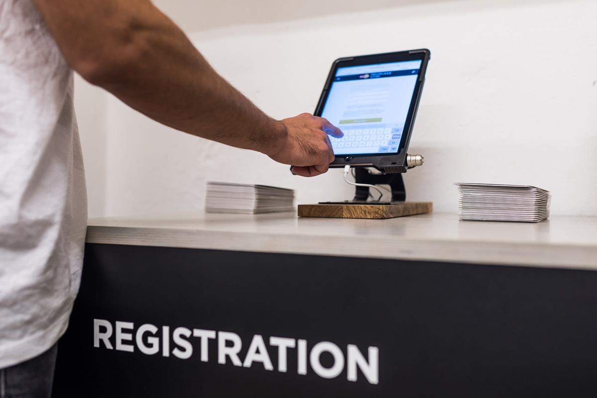 Im Store konnte man sich für die Priceless Cities Aktion registrieren.