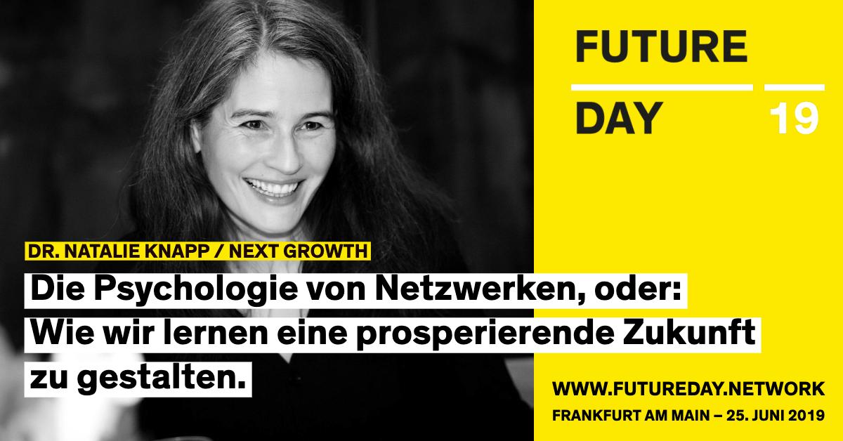 Natalie Knapp ist beim Future Day 2019 in Frankfurt.