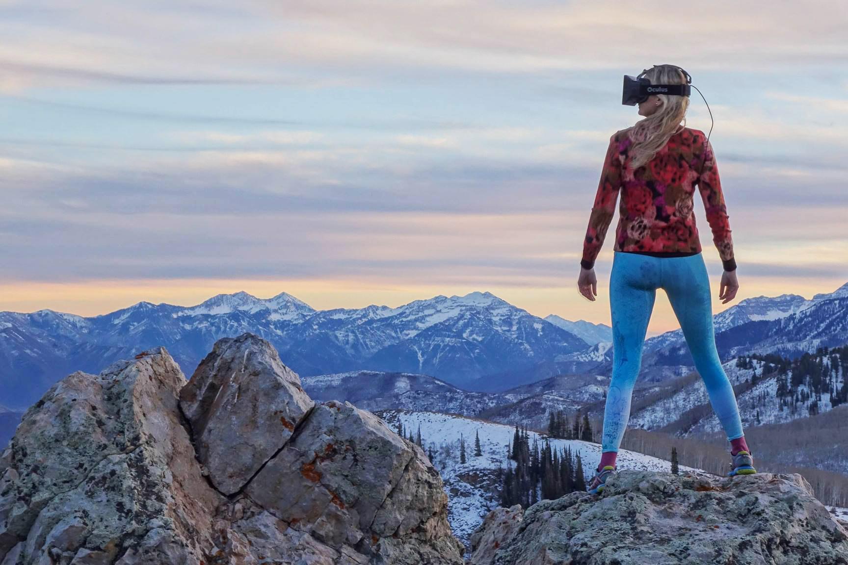 Die VR-Brille bringt uns in neue Umgebungen und führt uns zu neuen Abenteuern.