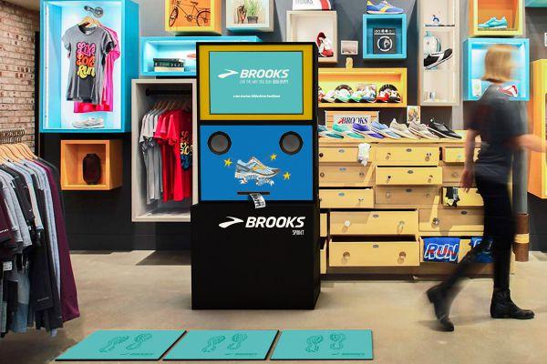 Das Sprint Tool von Brooks wurde als erstes im POS in Frankreich getestet.