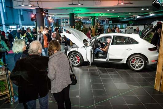 Die Präsentation des Porsche Macan war ein ganz besonderer Event, ein großartiger Playground.