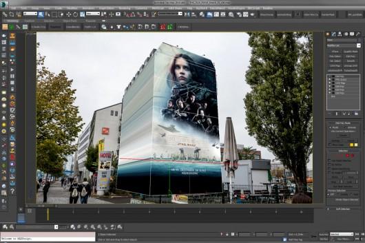 In der Software werden Graffiti und Animation miteinander verbunden.