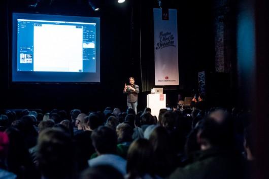 Rufus Deuchler von Adobe zeigte, was es so Neues gibt.