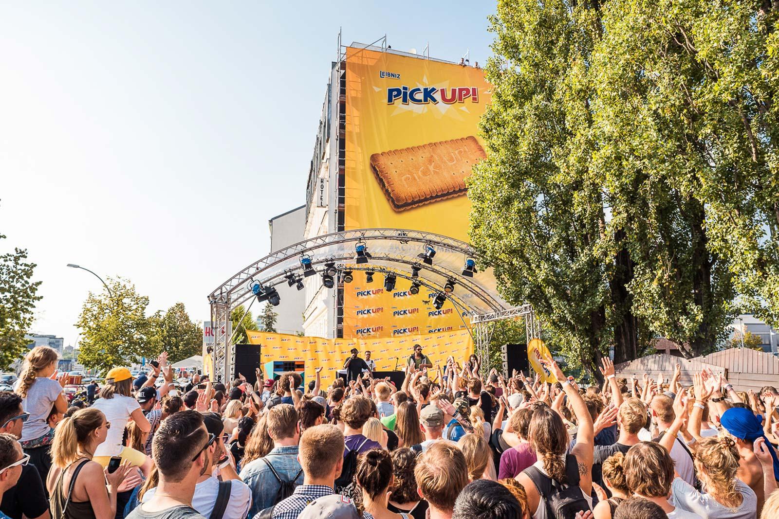 Mehr als 700 Menschen waren beim Pick Up Konzert in Berlin dabei.