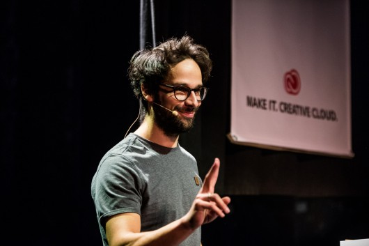 Der Filmemacher und mehrmaliger Webvideopreisgewinner Sebastian Linda zeigte in kürzester Zeit wie er einen Film erstellt.