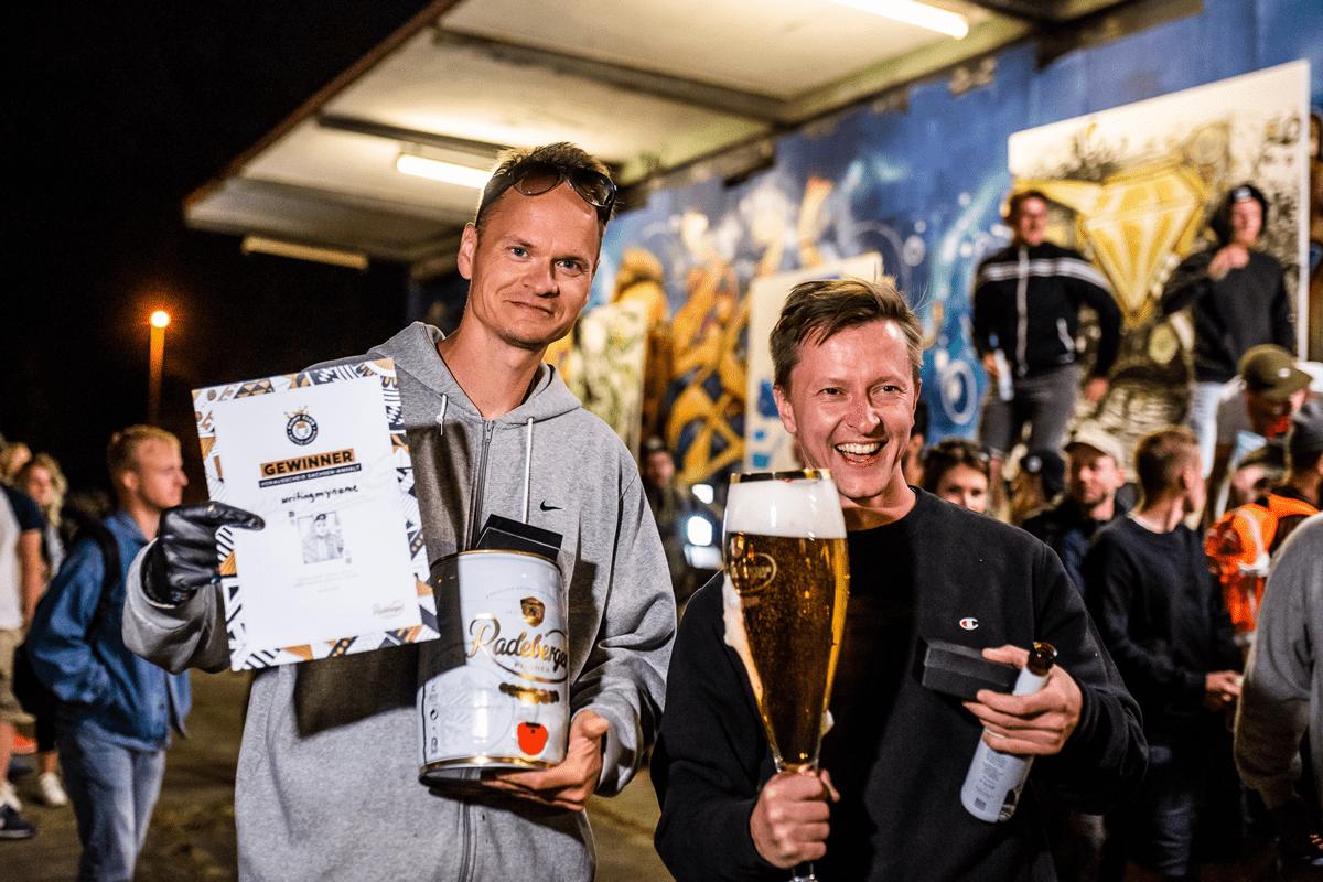 Writingmyname und Parkz holen sich das Recht auf das Finale in Magdeburg.