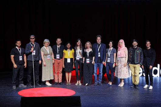Alle Speaker beim TEDx Dresden 2018 sind Inspiration für CROMATICS.