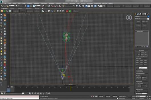 Die Software berechnet die Größe der Animationsfiguren.