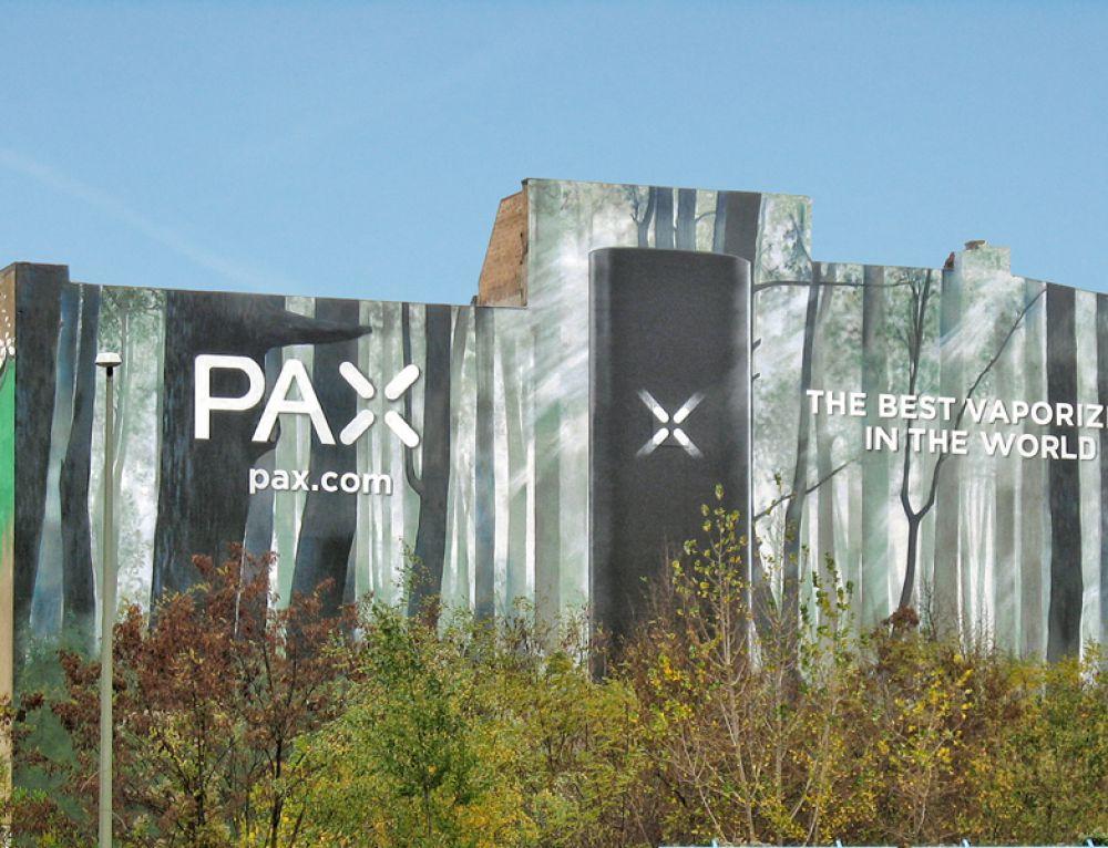 PAX Vaporizer: Größtes kommerzielles Mural Berlins