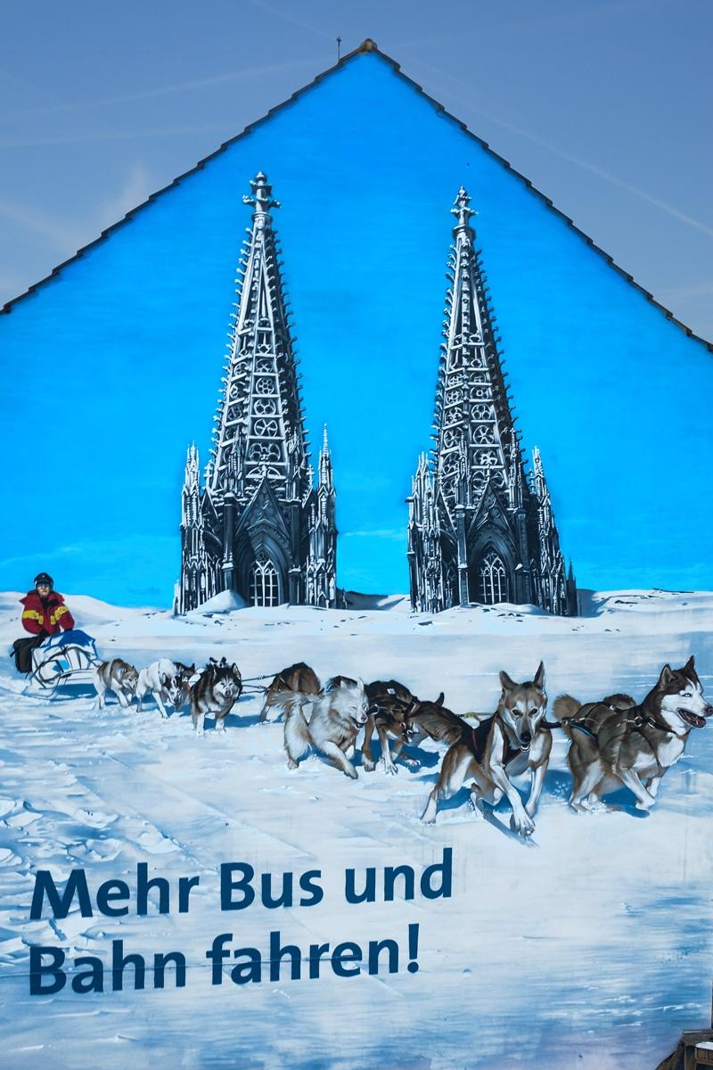 Eine super Kampagne der KVB, umgesetzt von CROMATICS Berlin.