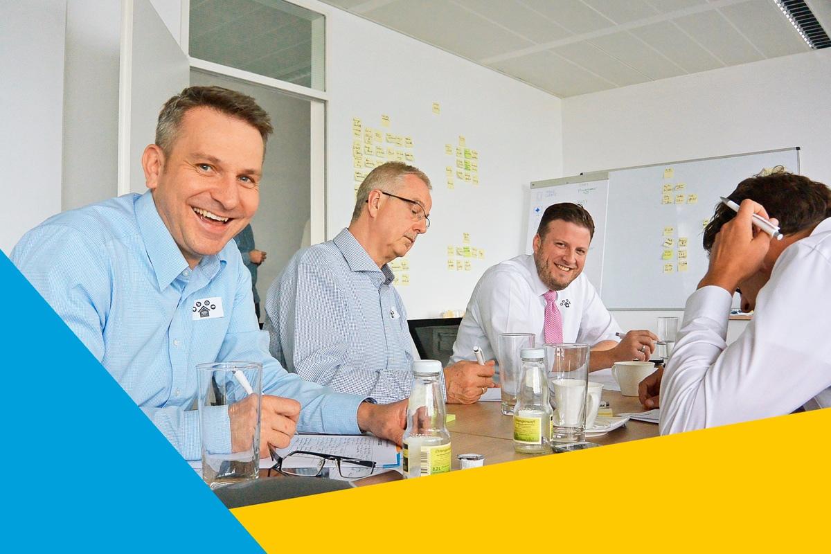 Unter Anleitung und Workshops von CROMATICS hatten die Teams Spaß und entwickelten ihre Marke neu.