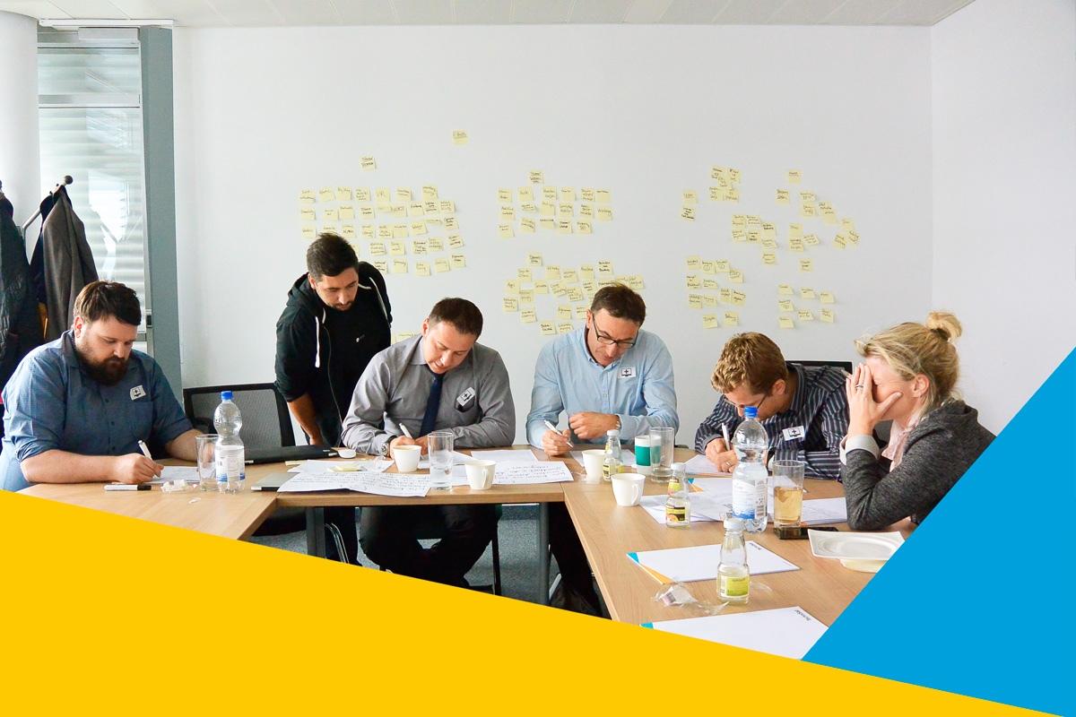 In Workshops entwickelten die Mitarbeiter von TechniSat die neue Marke.