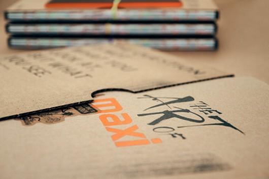 Das Papierkompendium wurde in einer Hülle aus Igepa Pappe mitgeliefert.