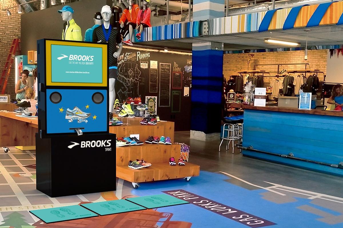 Das Brooks Sprint Tool sieht im POS super aus.