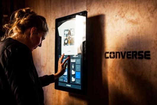 Der YR Designer war die Neuheit für die Gäste der Converse Clashwall