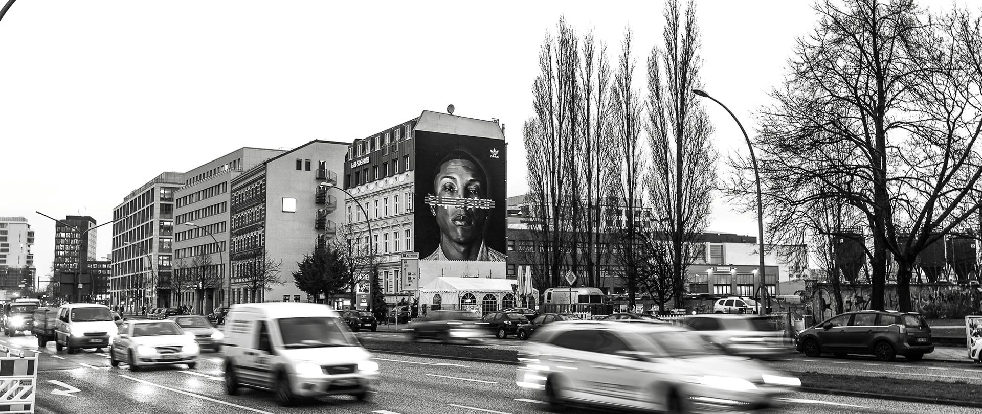 cromatics mural berlin adidas | CROMATICS
