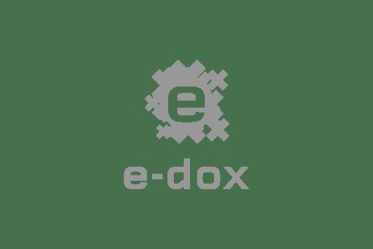 e-dox Markenentwicklung und Markendesign