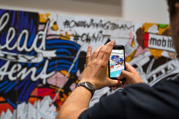 Die Culture Wall war für die Mitarbeiter ein tolles Tool, um sich besser austauschen zu können.