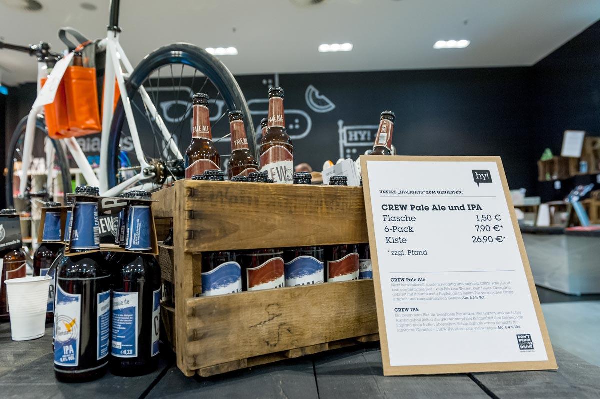 Der Hy Pop Store zeigt was in Dresden für lokale Marken zu finden sind. CROMATICS und andere Agenturen sind dabei.