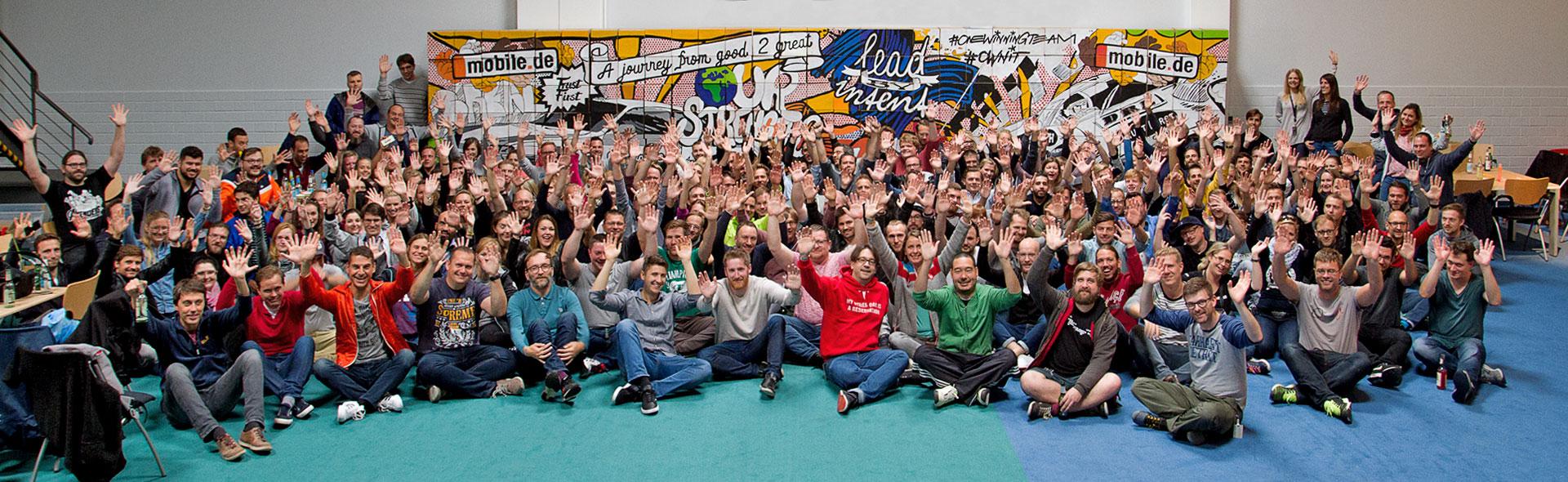 Das Team Event für mobile.de haben wir mitgestaltet.