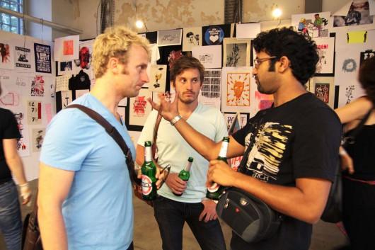 Networking mit CROMATICS und Levis im Relationship Playground Berlin. CROMATICS organisiert Event und gestaltet Marketing und PR online und offline.