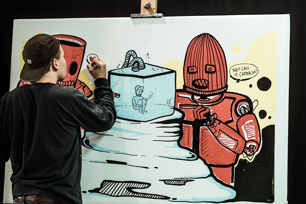 Arda legte mit einem Robo vor.