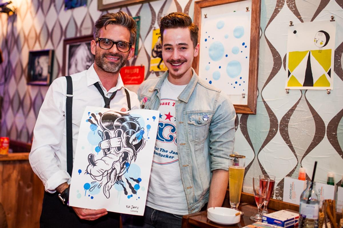 DeeDeeKid ein Künstler von CROMATICS war bei ECHO 2013 in der Takko Lounge dabei.
