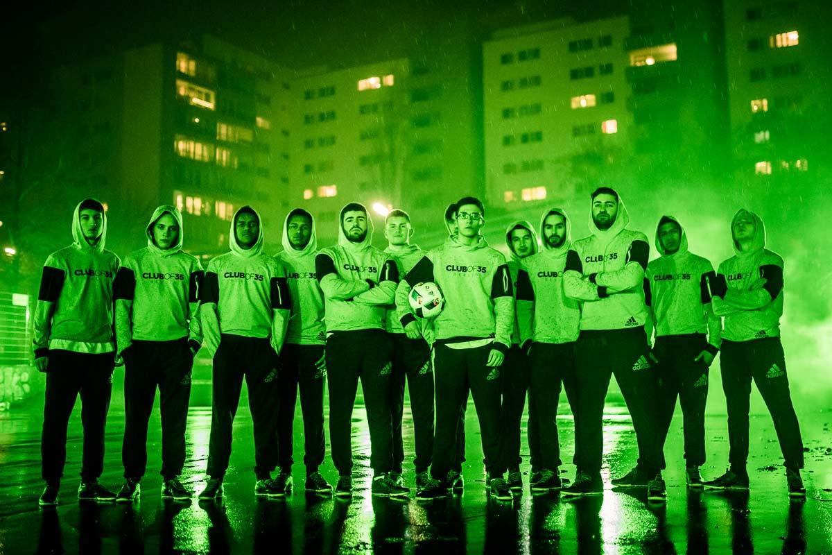 Das ganze Team von collective of 35 in Berlin sind stolz, dass sie CROMATICS helfen konnten und dabei für adidas ein Video drehen konnten.