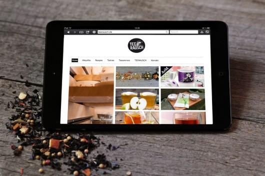 Für alle, die keine Gelegenheit haben regelmäßig vorbei zu schauen, gibt es den passenden online shop im Markendesign von TEERAUSCH.