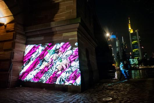 Den Locations sind kaum Grenzen gesetzt. Digital Murals überall.